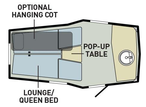 travel trailer layout