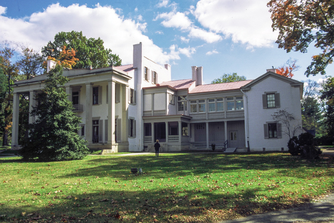 """Belle Meade (""""beautiful meadow"""") was built by the slaves of William Giles Harding. Confederate General Harding is considered one of the founders of Tennessee horse racing and breeding."""