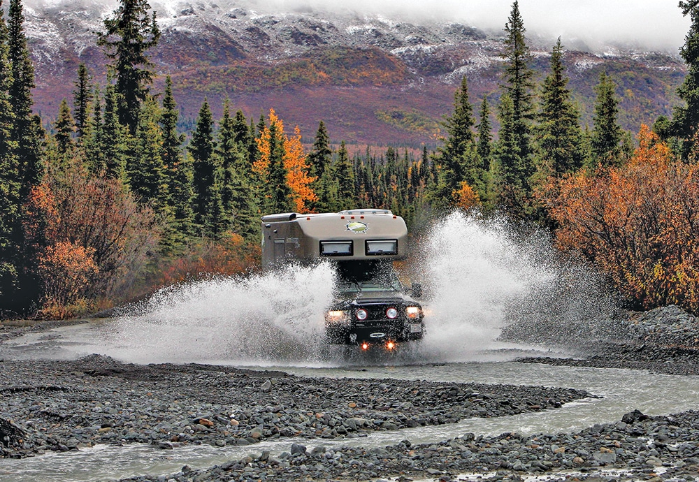 OFF-ROAD ADVENTURER: EarthRoamer designs and manufactures four-wheel-drive, go anywhere motorhomes that the company calls Xpedition Vehicles, or XVs.