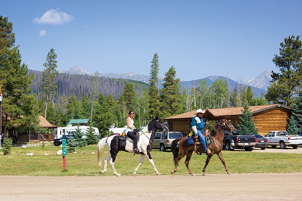 Horse lovers will appreciate the direct access to miles of trails at Winding River.
