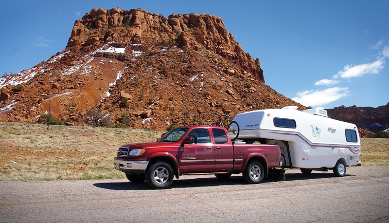 Towing Fifth Wheel