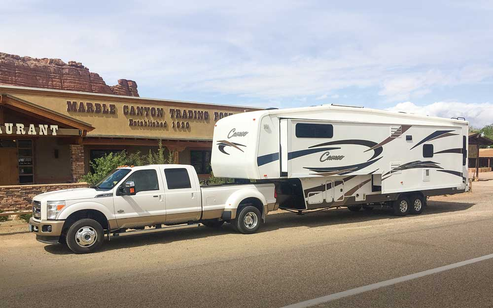 Finished product: After five days, this seven-year-old fifth-wheel looks brand- new again. VIP Enterprises offers many services to inject new life into an RV.