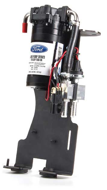 Lube pump for dinghy towing