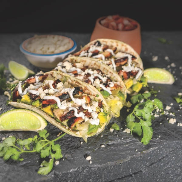 Grilled Chipotle Chicken Street tacos