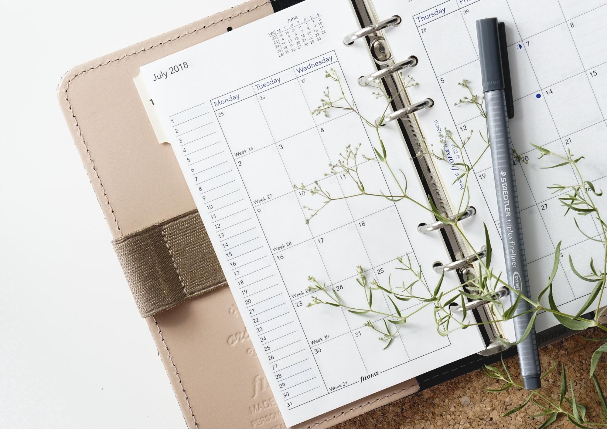 calendar booklet