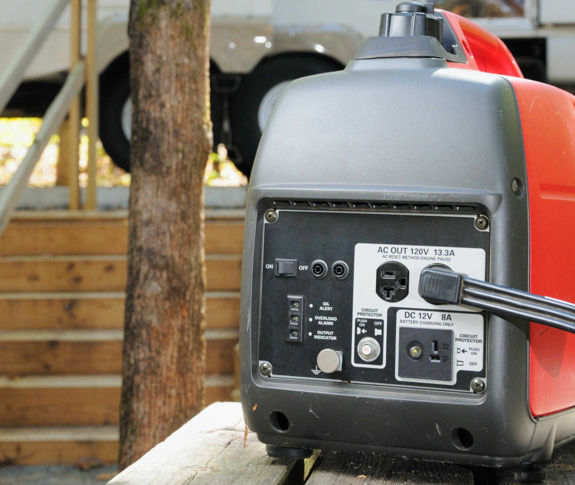 Generator for an RV