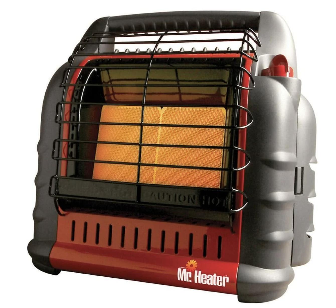 Mr. heater big buddy portable space heater
