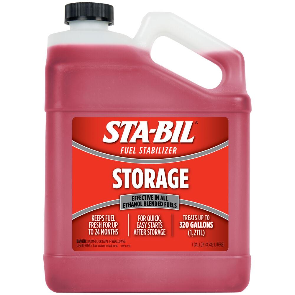 Sta-Bil fuel stabilizer for storage