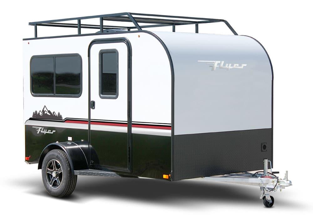 Small inTech Flyer travel trailer