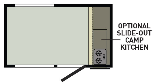 Layout of travel trailer