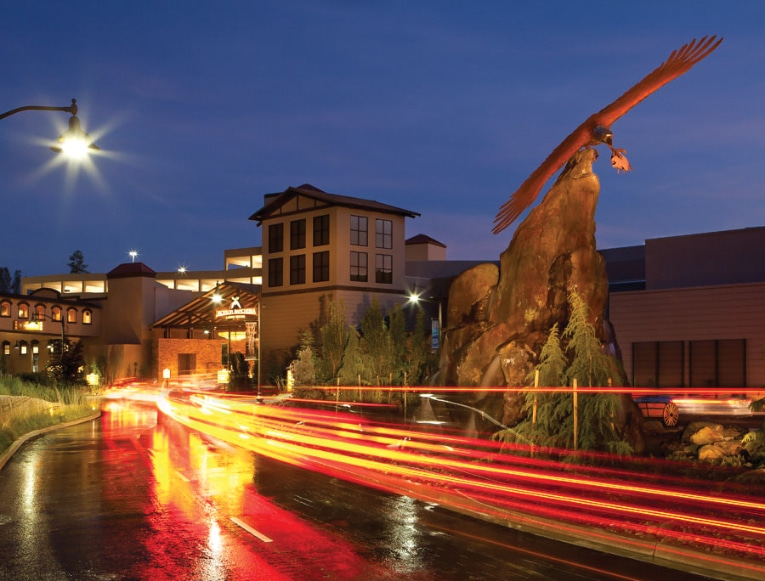 Visitors to Jackson Rancheria Casino Resort are rewarded with 36 gaming tables, 1,700 slot machines and a variety of dining options