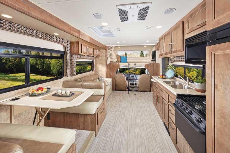 Greyhawk Prestige 29MVP interior