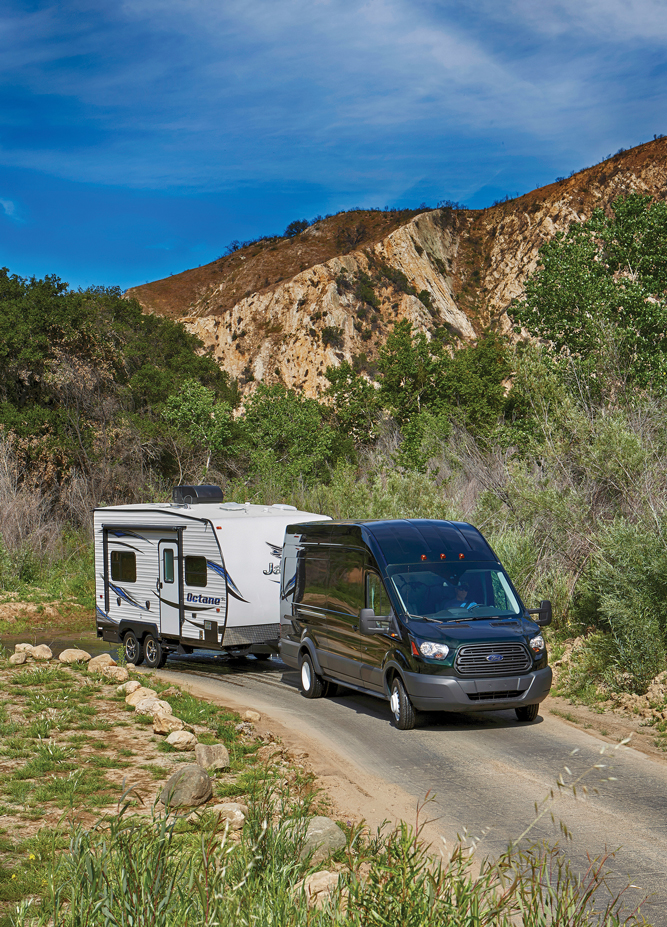 At every turn, literally and figuratively, the Transit and Jayco package handled the conditions with ease.