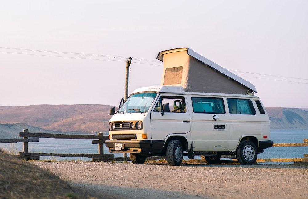 Camper Van parked