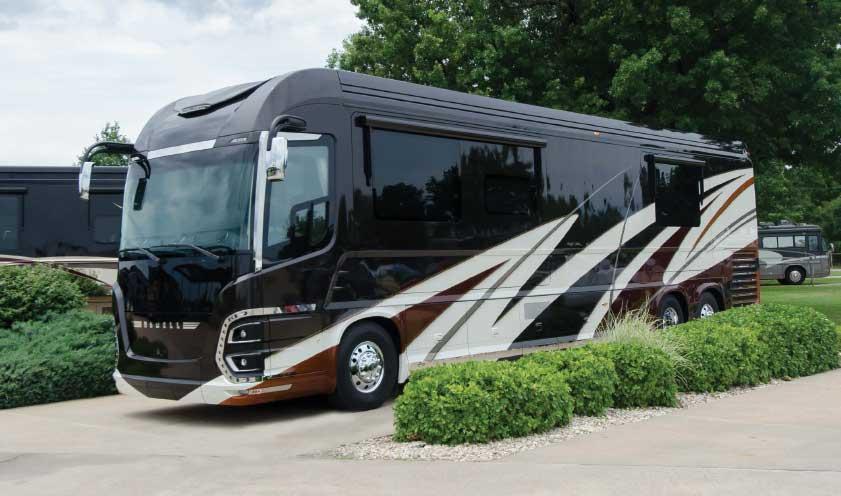 Newell Coach 1652 exterior