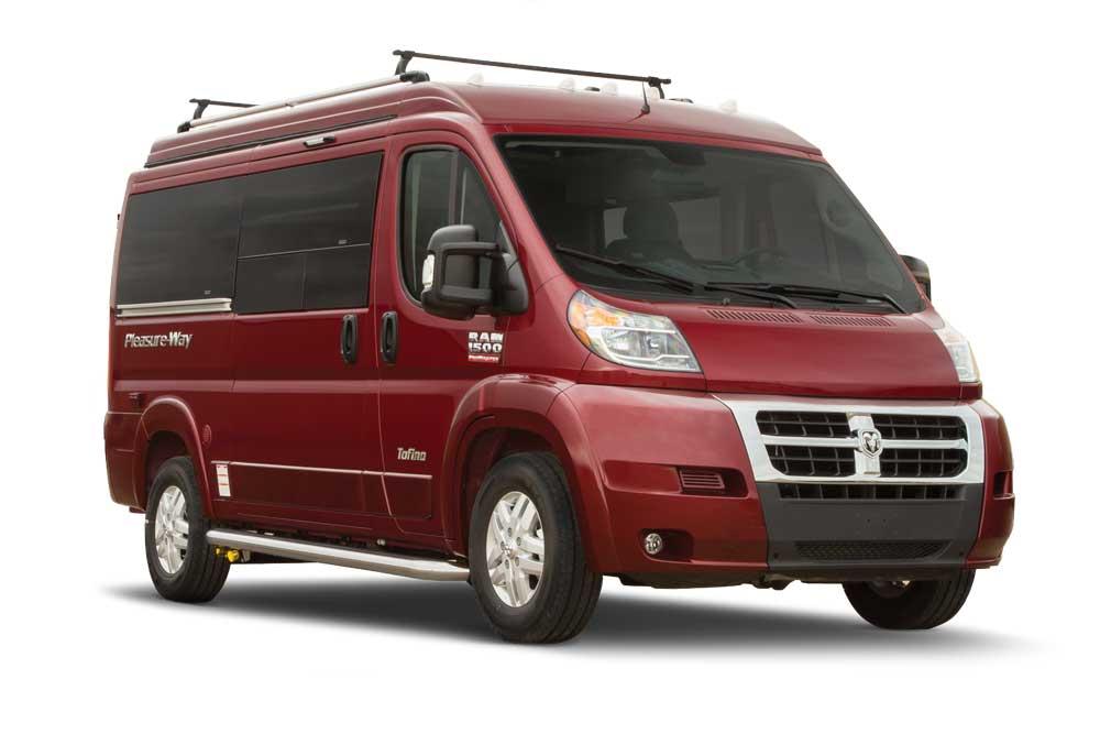 Pleasure-Way Tofino Camper Van Class B motorhome
