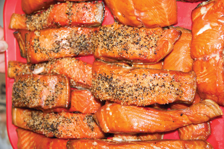 Rockaway Beach's Old Oregon Smoke House, with outdoor seating only, serves up tasty, locally caught smoked salmon.