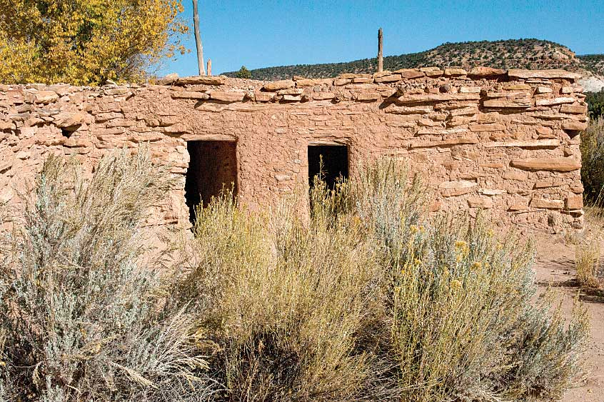 Anasazi State Park Museum's Ancestral Puebloan village in the town of Boulder.
