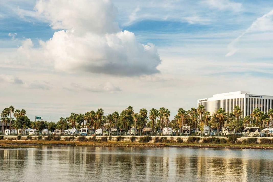 Golden Shore RV Resort in Long Beach, CA