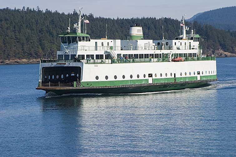 The San Juan Archipelago is just a short ferry ride from Anacortes, Washington.