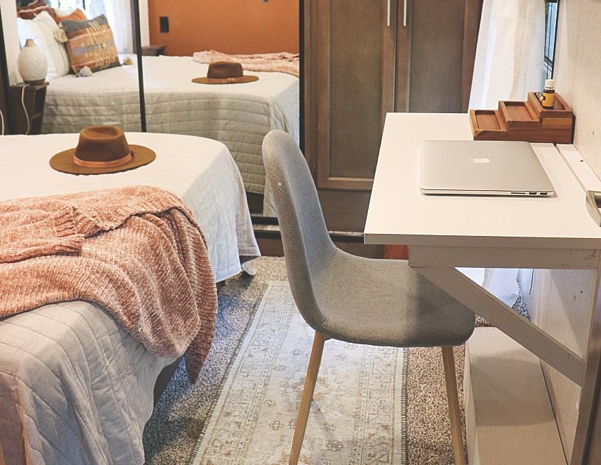 Lane Bedroom Drop-Down Desk