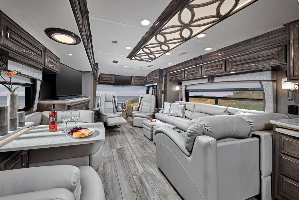 2021 Entegra Cornerstone interior