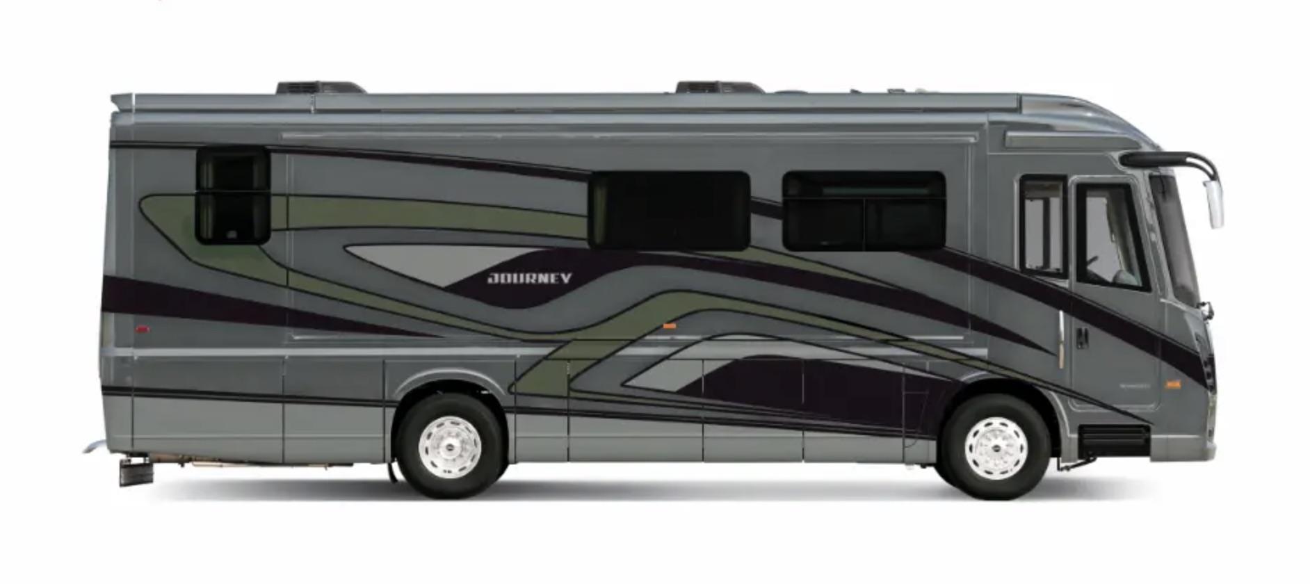 2021 Winnebago Journey exterior