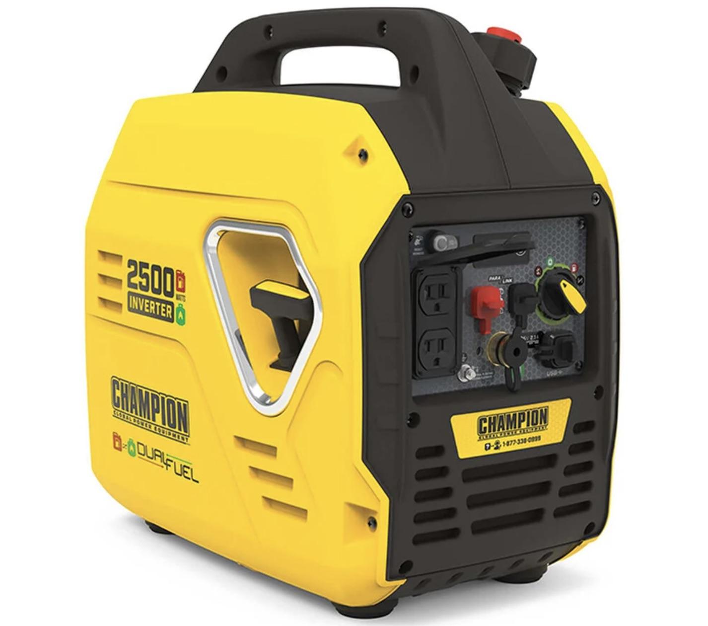 Champion 2500 inverter portable generator
