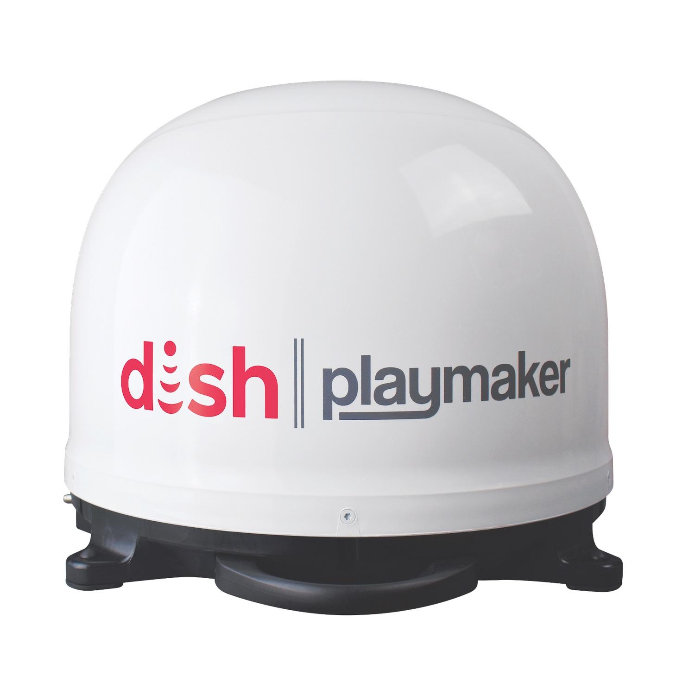 DISH playmaker portable satellite antennea