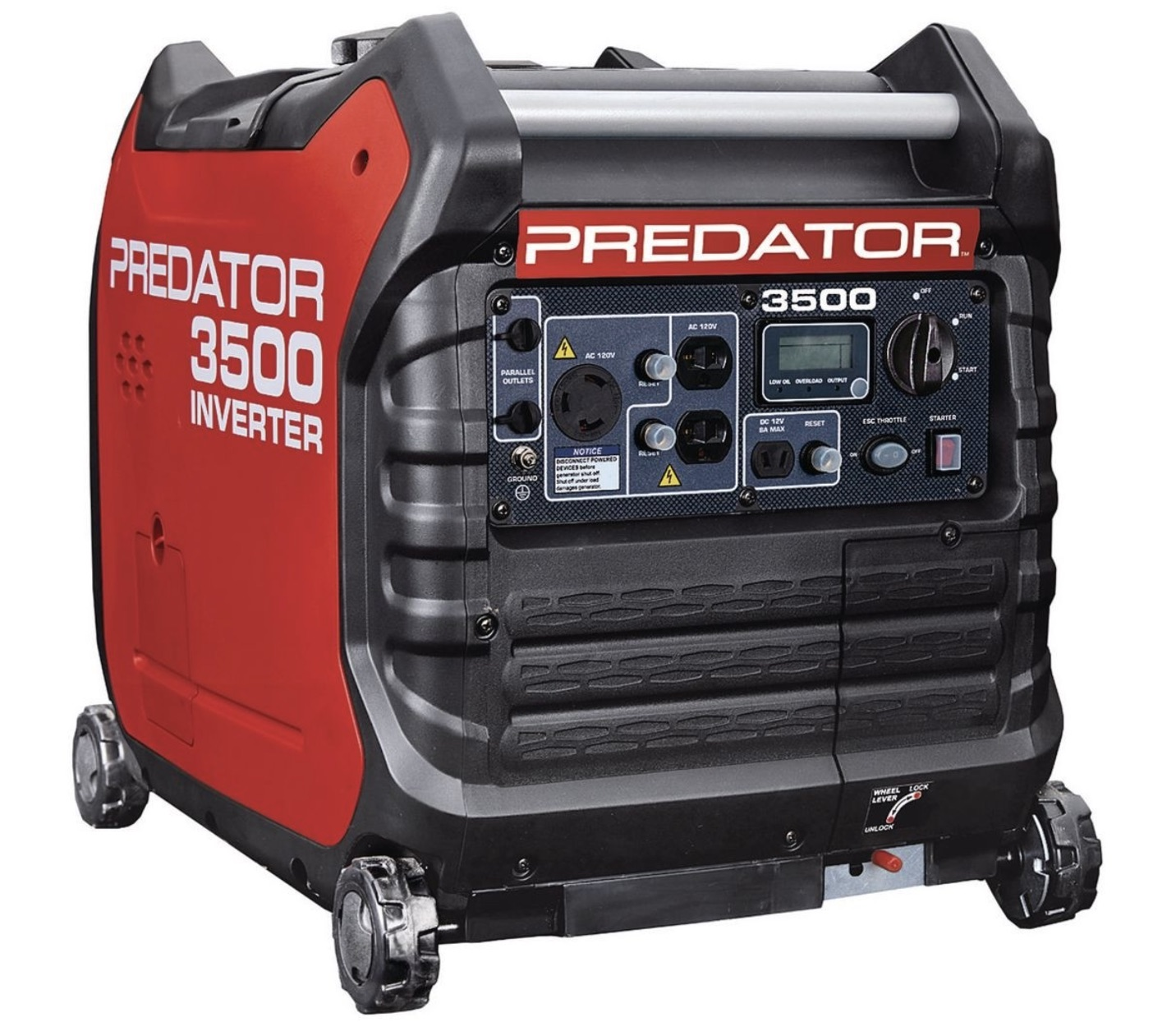 Predator 3500 inverter portable generator