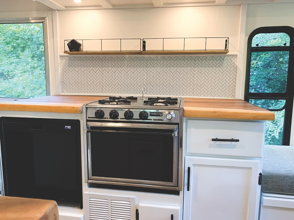 Renovated Kitchen Space