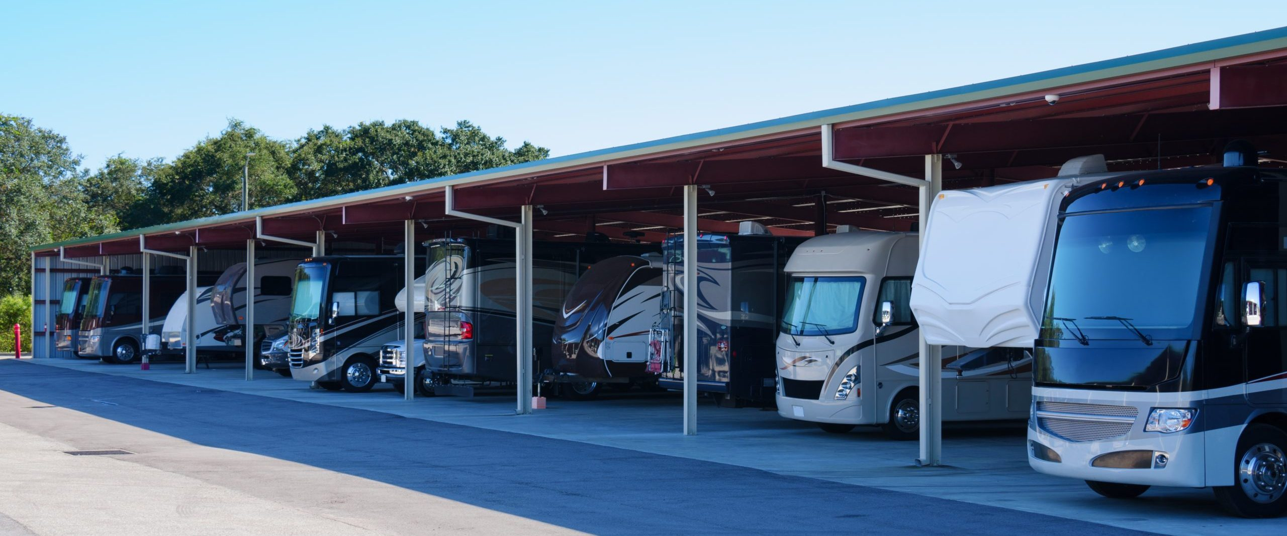 RV Covered Storage