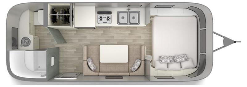Floorplan - Airstream Bambi