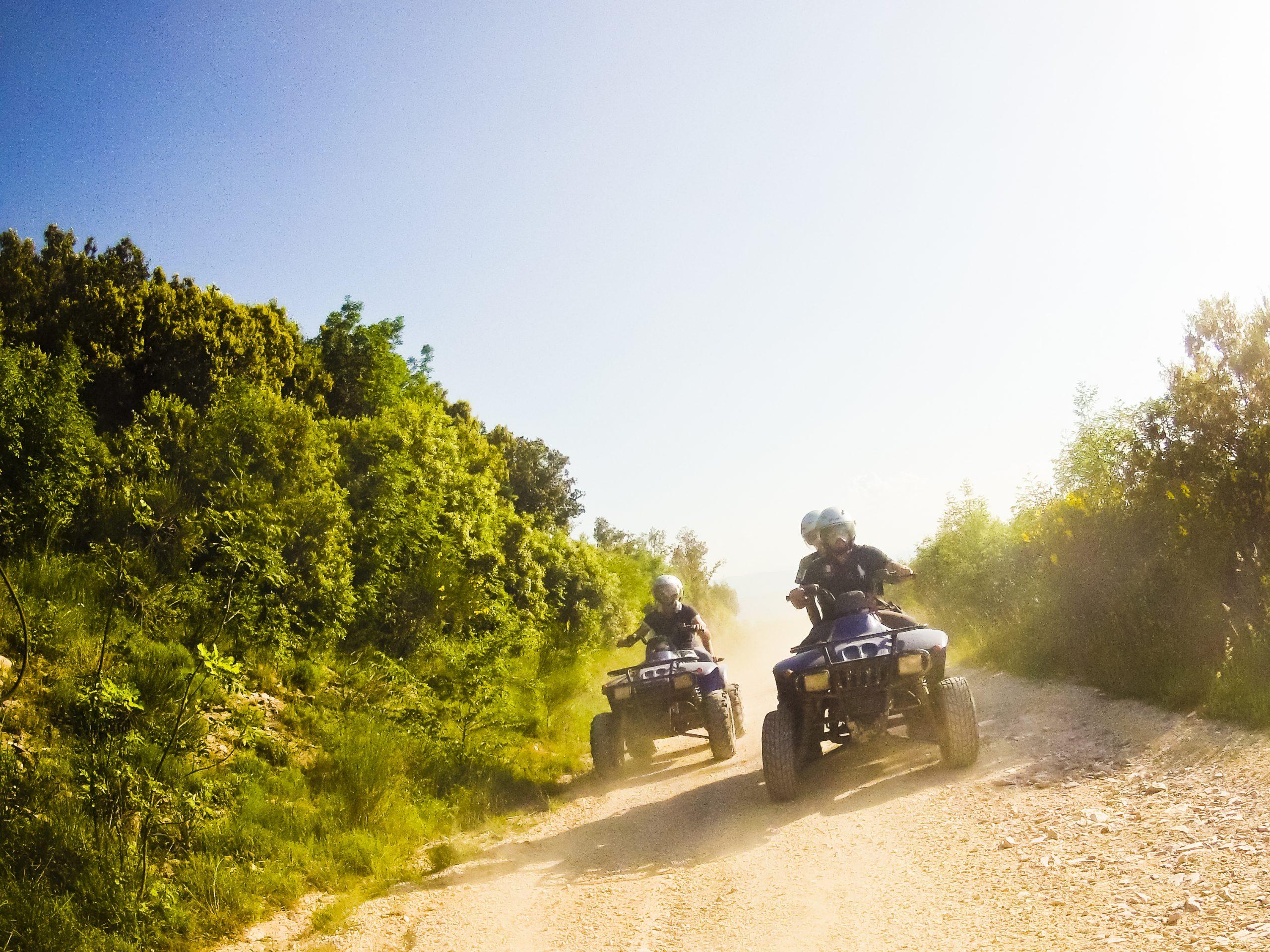 ATVs Off-Roading