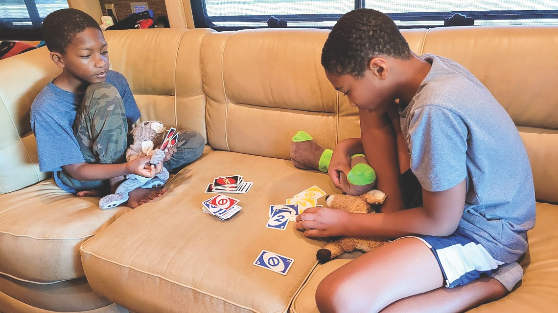 Family Fun on the Road with Games