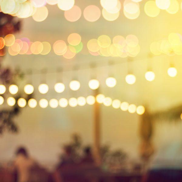 Lights Art Festival Dusk