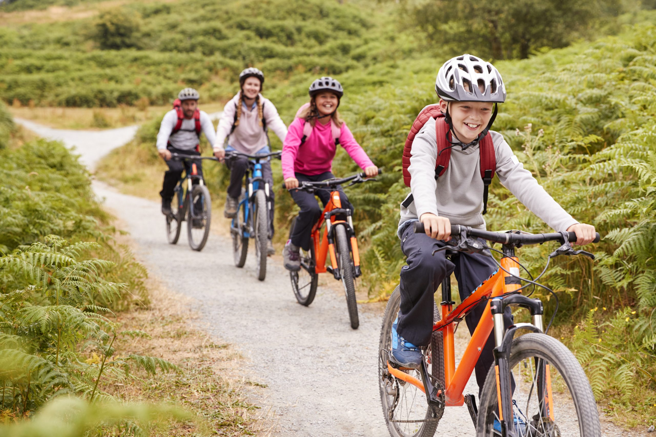 Family Bike Ride Adventure
