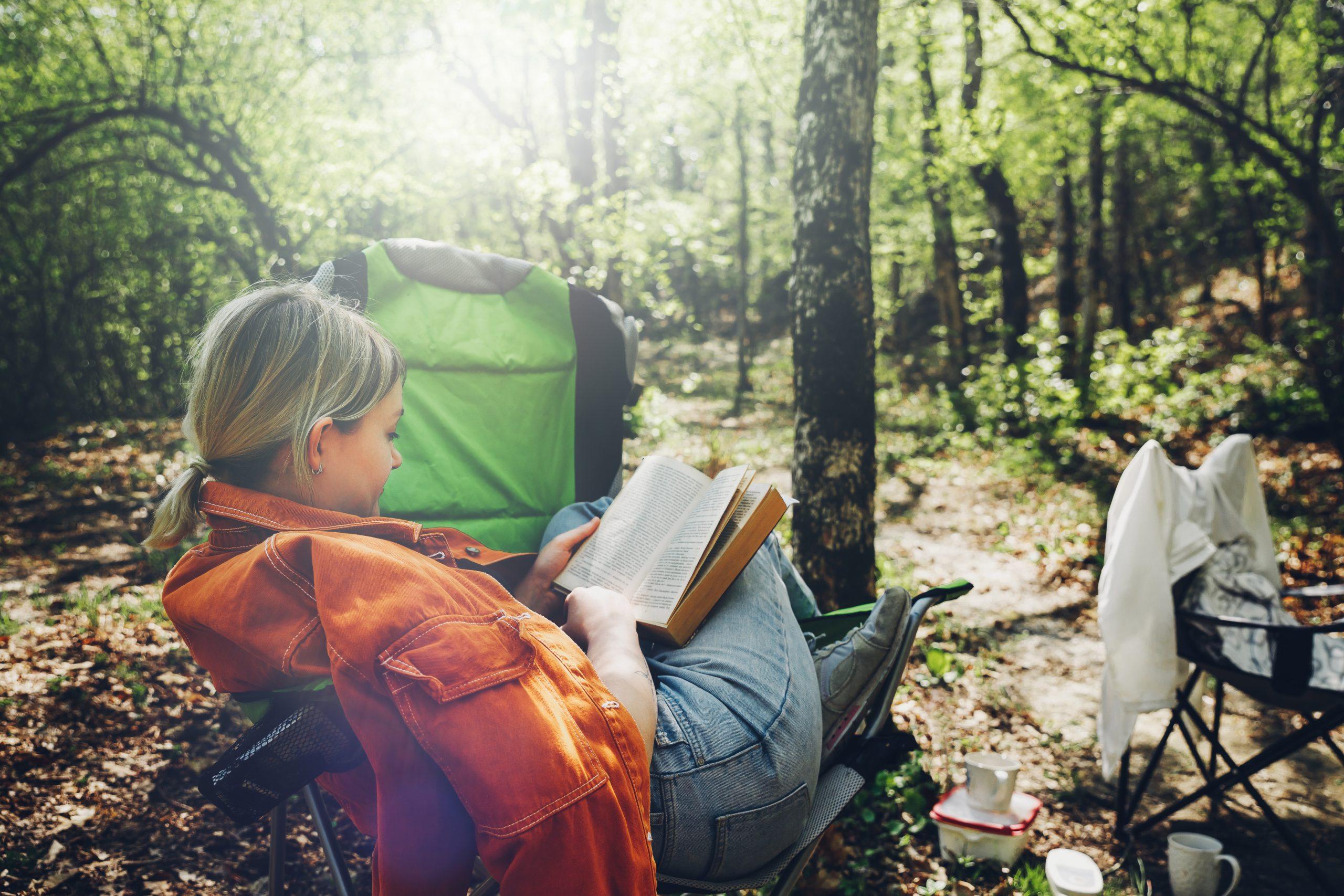 Read a Book in Nature