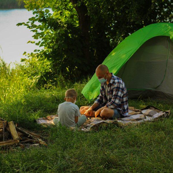 Camping Safest Travel Option