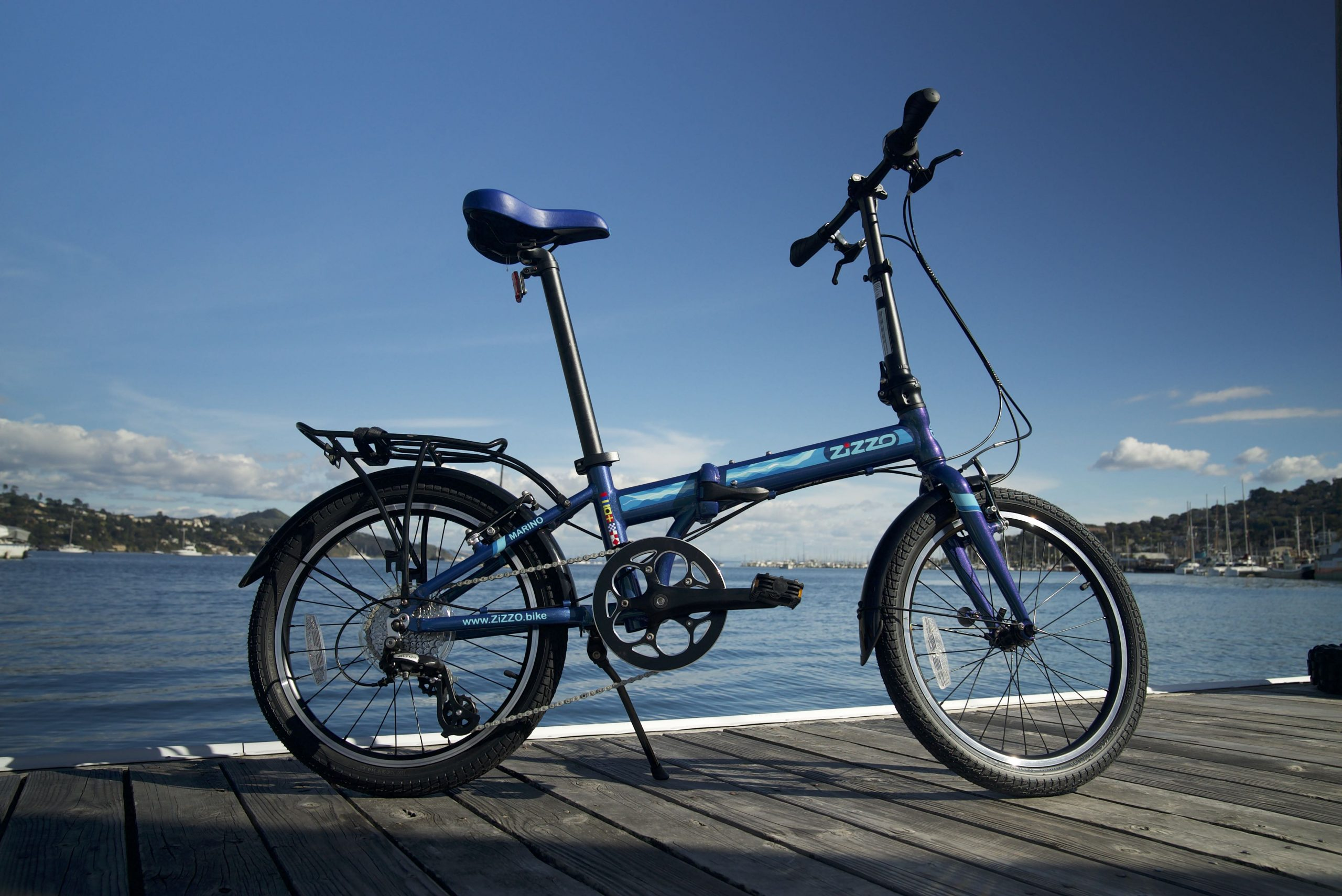 ZiZZO Bike Unfolded