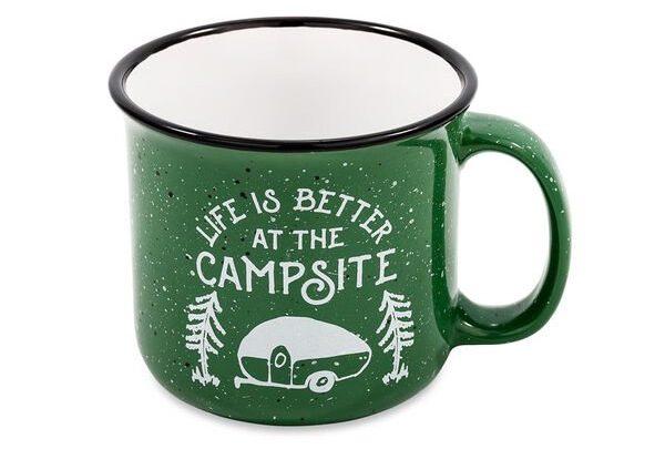 Camco Speckled Mug