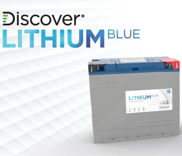 Discover Lithium Blue