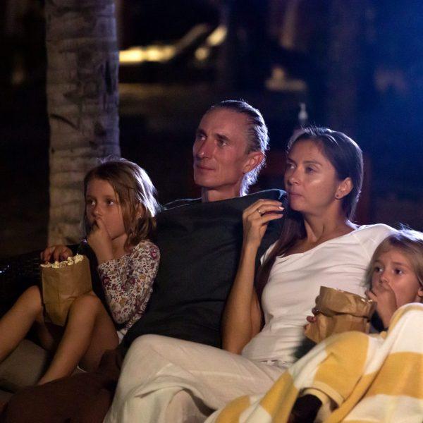 Outdoor Movie Night RV