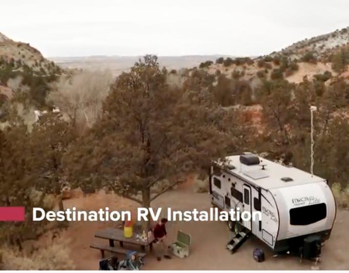 Destination RV Cell Signal Booster