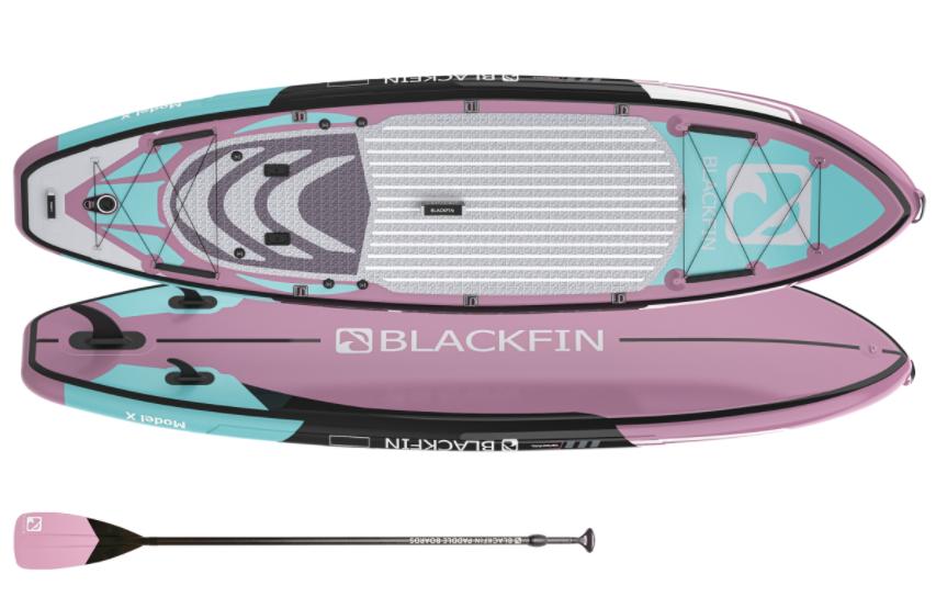 iRocker Black Fin Paddleboard