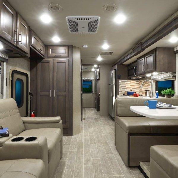 Thor Class C Motorhome Interior Upgrade