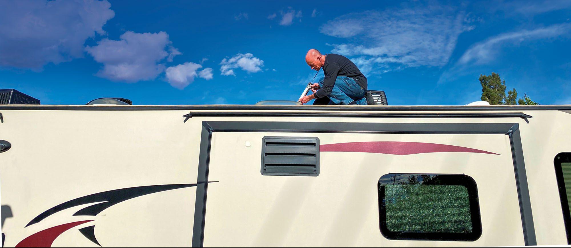 RV Maintenance Task - Roof