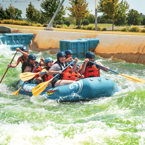 Summer Getaways - River Rapids
