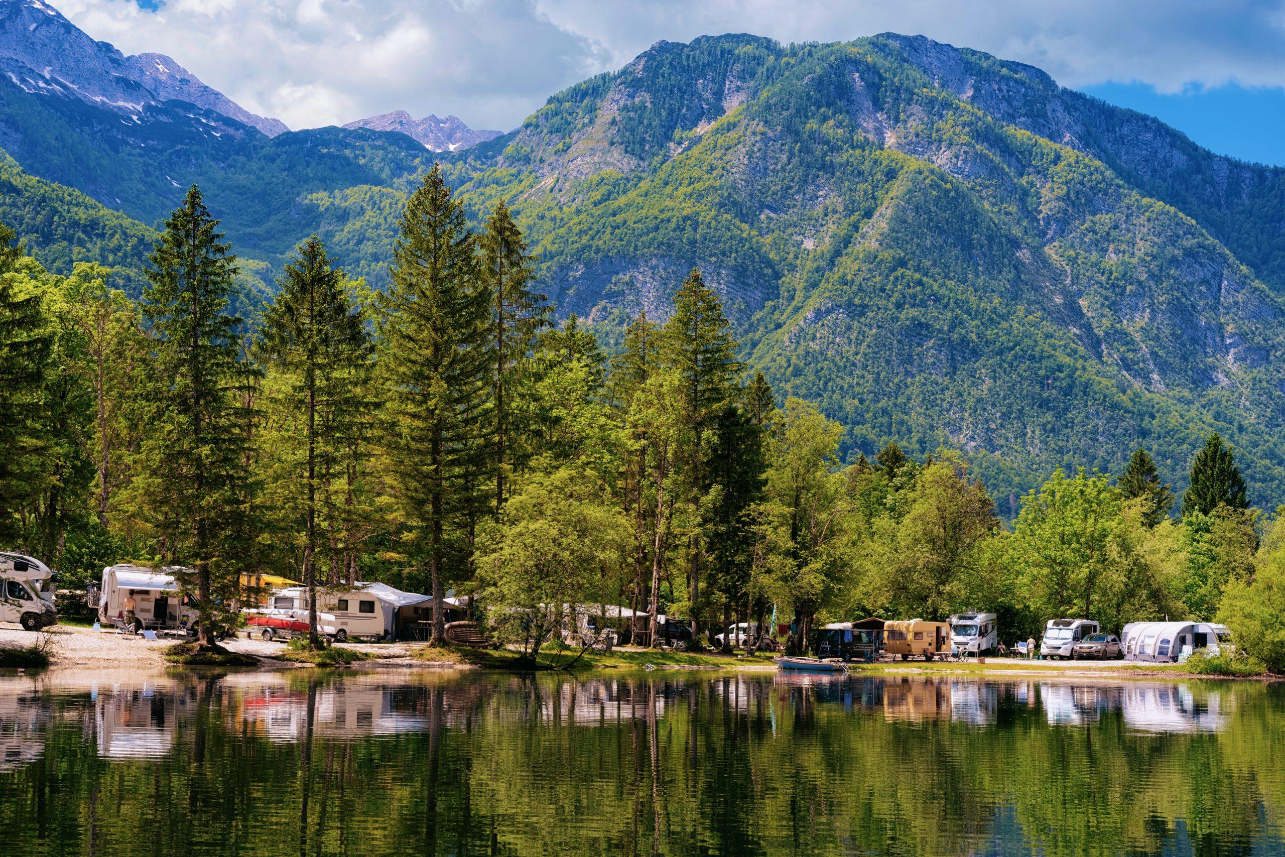 Campground Summer Lake