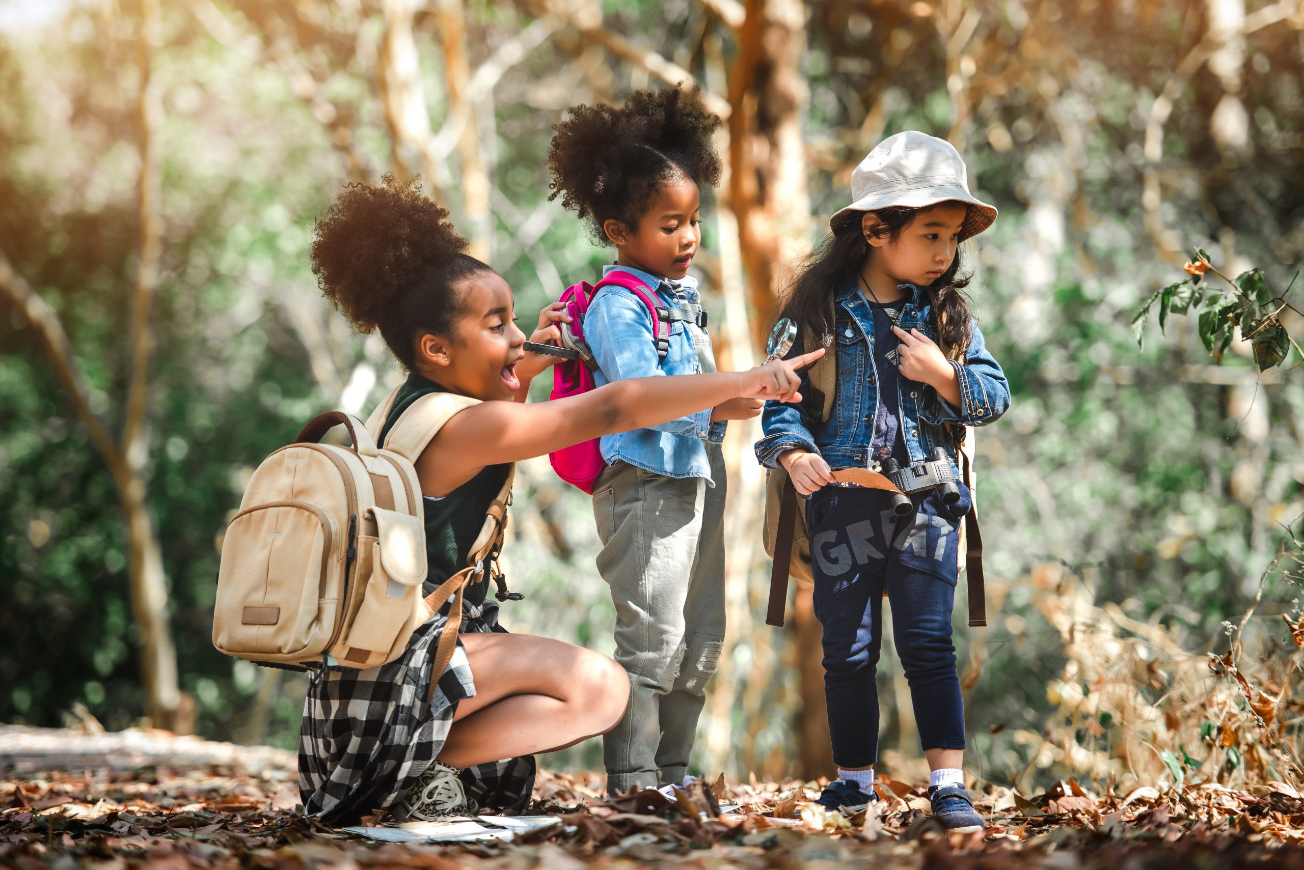 Camping Reduces Kids' Screen Time